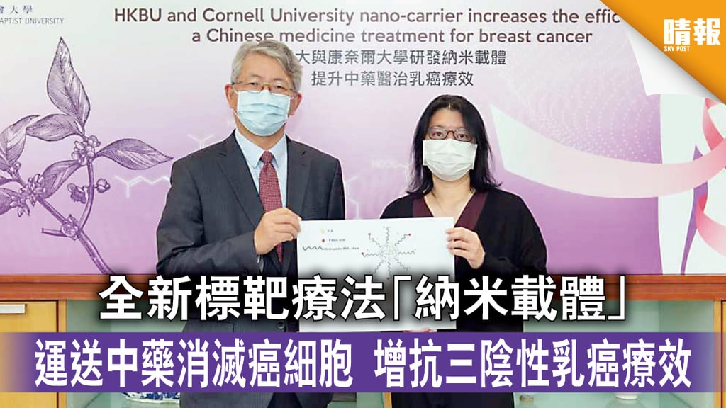 乳癌治療全新標靶療法
