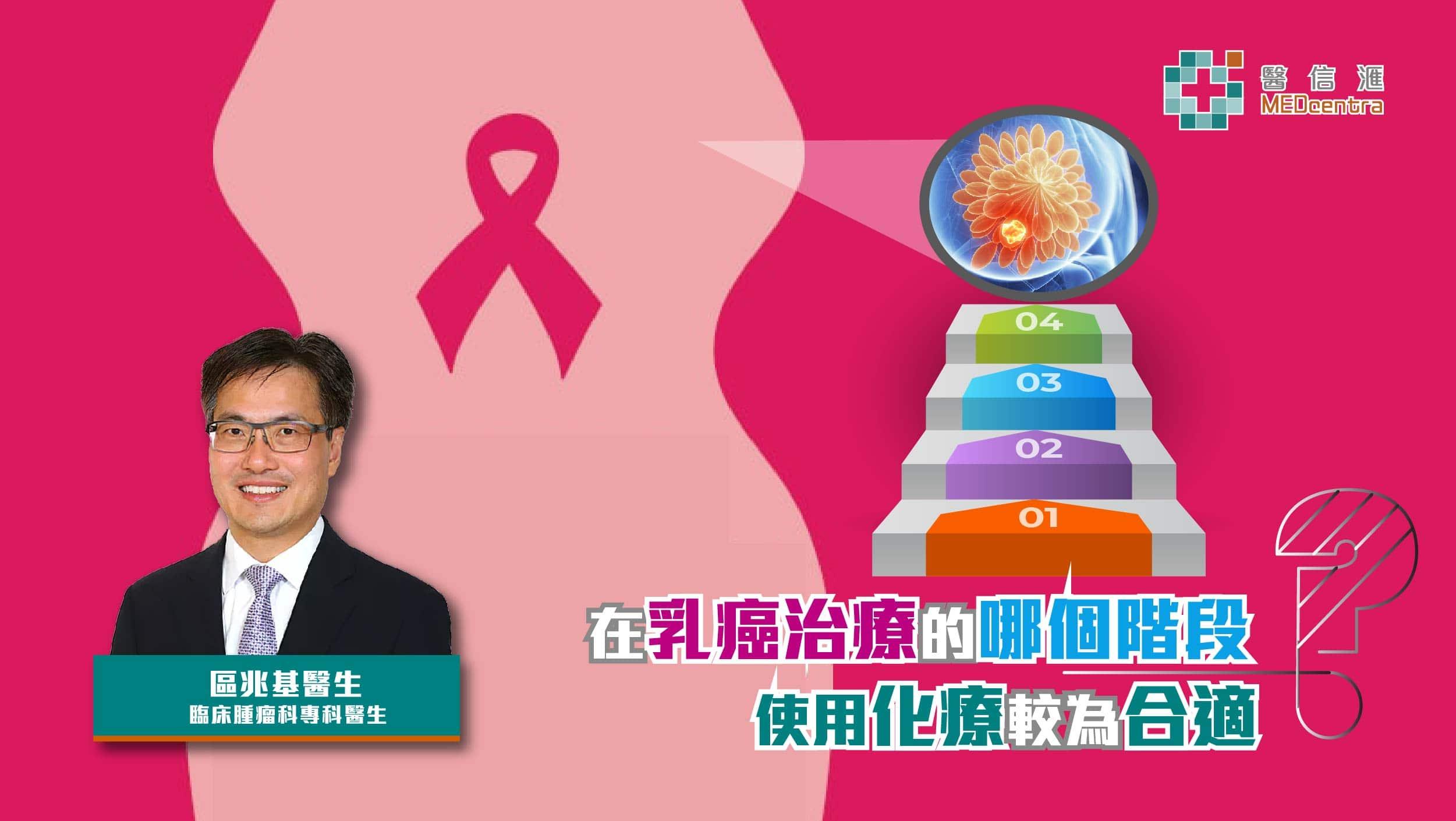 乳癌治療在哪個階段使用化療較為合適