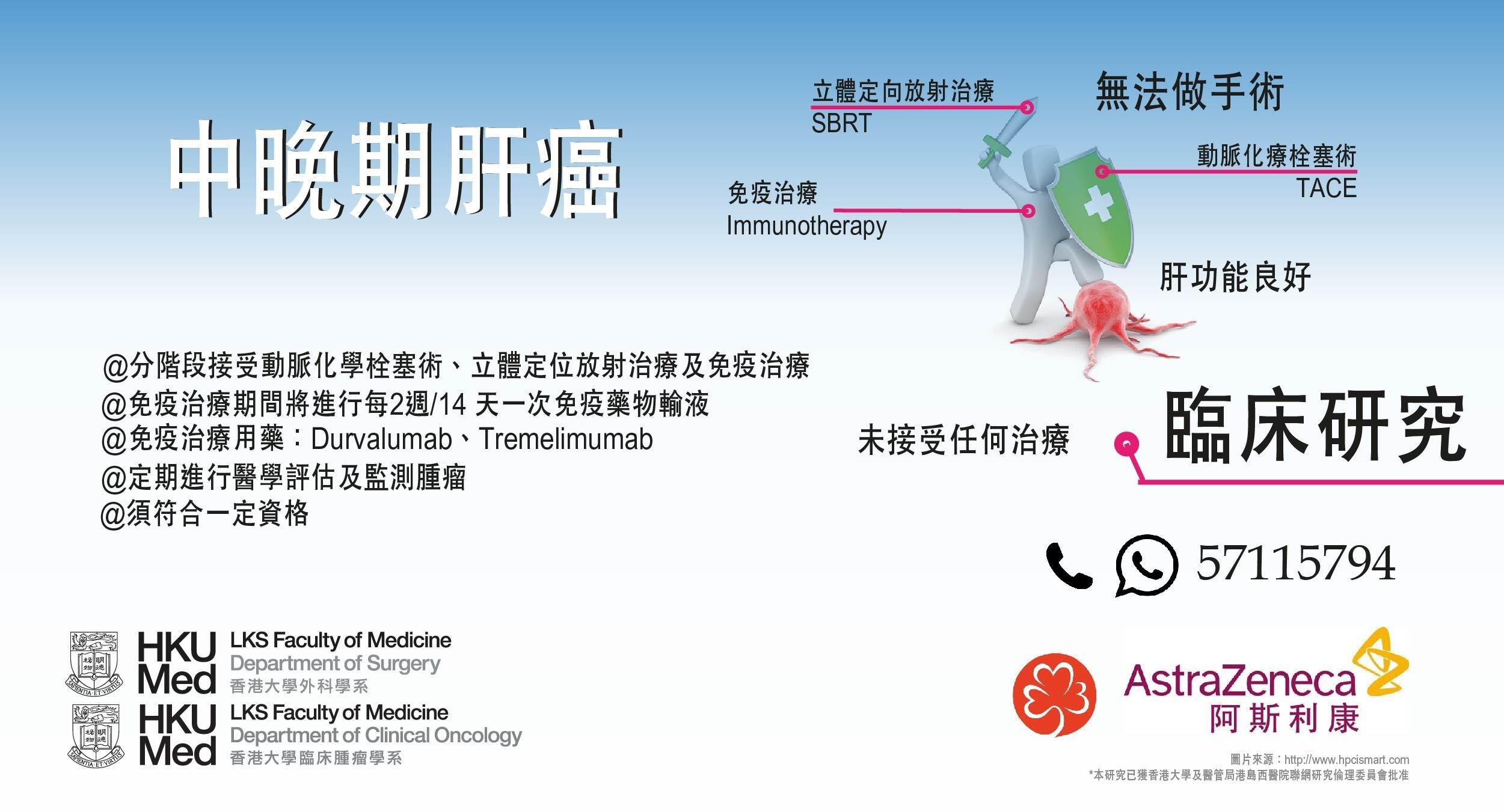 臨床研究-中晚期肝癌