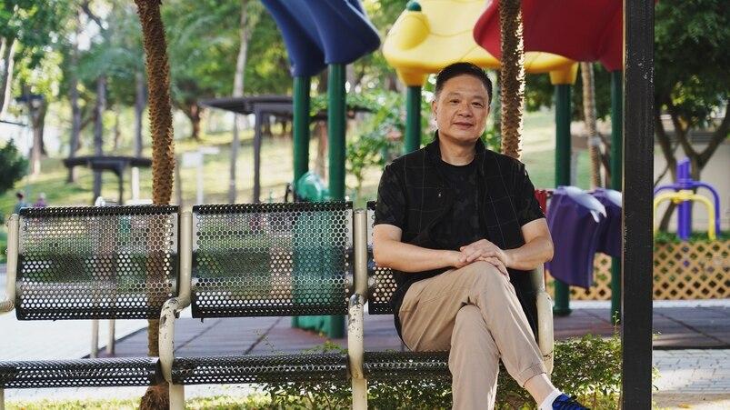 62歲的陳華(Wilson)20年內先後戰勝腸癌及前列腺癌,現時積極參與香港癌症基金會的義工服務。