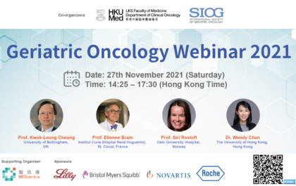 Webinar Geriatric Oncology Webinar 2021 cover